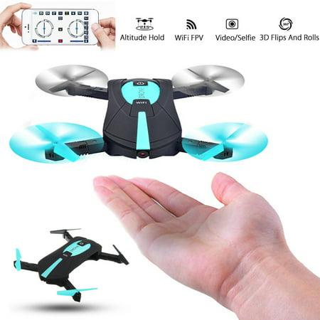 MINI Foldable JXD 523 G-sensor Camera WIFI FPV RC Quadcopter