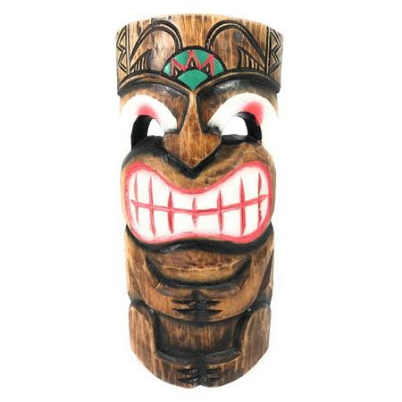 Smiley Tiki Mask 12