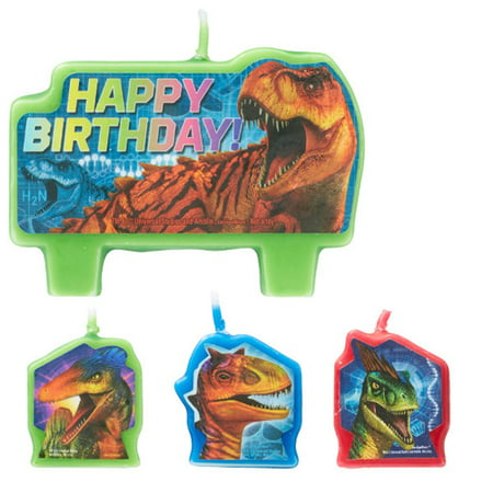 Old World Cradle - Jurassic World 'Dino Hybrid' Mini Candle Set (4pc)