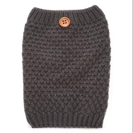 Womens Winter Knitted Leg - White Fur Leg Warmers