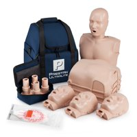 Prestan Ultralight CPR  and AED Training Manikin with Medium Skin Tone Economy 4 Pack