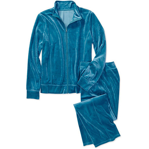 Faded Glory Women's Velour Tracksuit