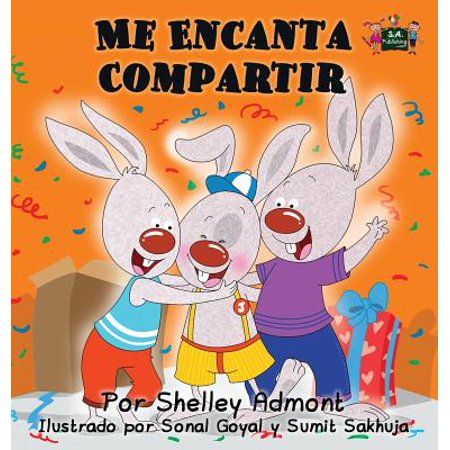 Me Encanta Compartir : I Love to Share (Spanish Edition) - Me Spanish
