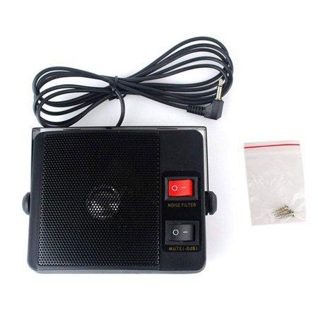 (Bonrich Ts-750 External Speaker For Yaesu For Icom For Kenwood Cb Radio 3.5Mm)