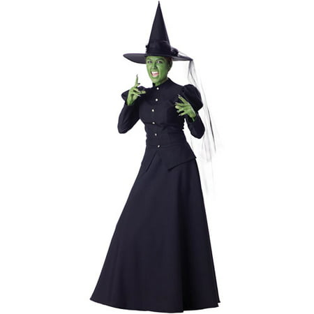 Witch Adult Halloween Costume](Photos Of Halloween Witch Makeup)