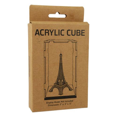 """Metal Earth Acrylic Display Cube, 3"""" x 3"""" x 5"""""""