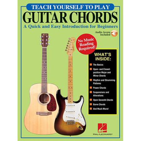 Teach Yourself to Play Guitar Chords : A Quick and Easy Introduction for Beginners
