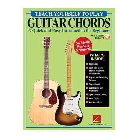 - Teach Yourself to Play Guitar Chords : A Quick and Easy Introduction for Beginners