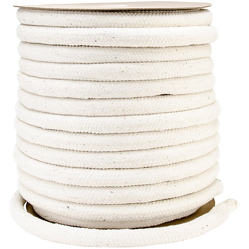 "Cotton Piping Cord, 1"", 10 lbs, White"