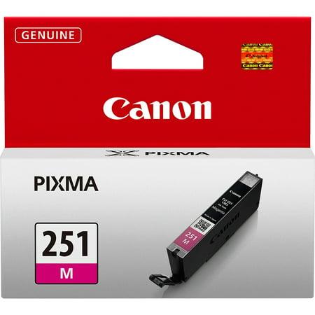 Canon 6515B001 CLI-251M Standard Capacity Magenta Ink Tank Canon Usa Ink Tanks