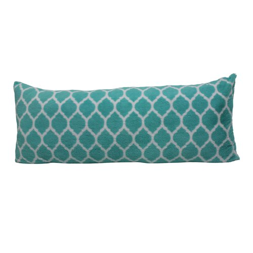 your zone trellis pillow, teal
