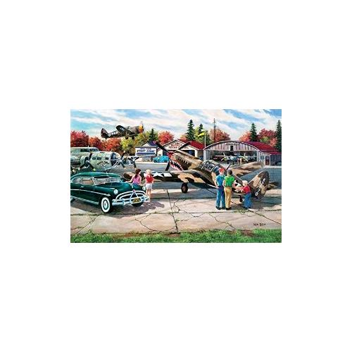 Warbird Rally a 550-Piece Jigsaw Puzzle by Sunsout Inc. Multi-Colored