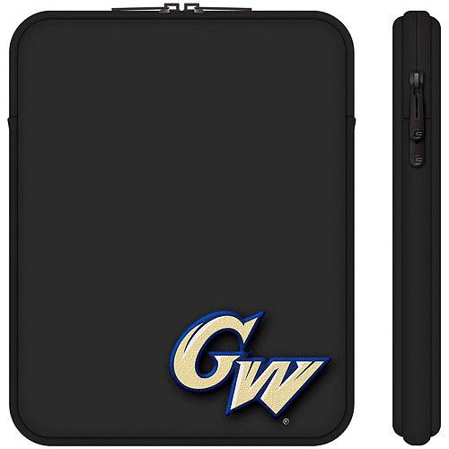 "Centon 10"" Classic Black Tablet Sleeve George Washington University"