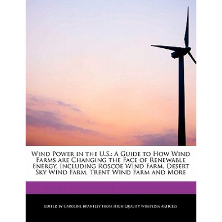 Wind Power in the U S  : A Guide to How Wind Farms Are Changing the Face of  Renewable Energy, Including Roscoe Wind Farm, Desert Sky Wind Farm, Trent