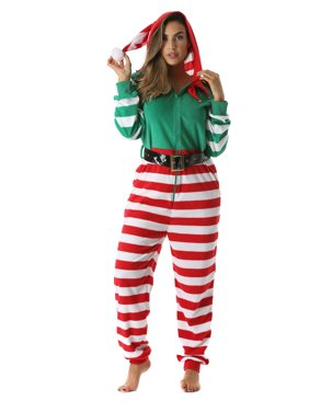 fd319a030e9 Product Image  followme Adult Christmas Onesie for Women Jumpsuit One-Piece  Pajamas (Elf