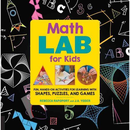 Math Lab For Kids  Fun  Hands On Activities For Learning With Shapes  Puzzles  And Games