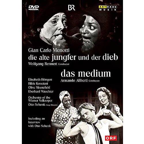 Menotti: Die Alte Jungfeer Und Der Dieb (The Old Maid And The Thief) / Das Medium (The Medium) (Full Frame)