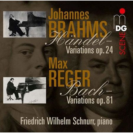 Variations & Fugues on Themes By Handel & Bach for $<!---->