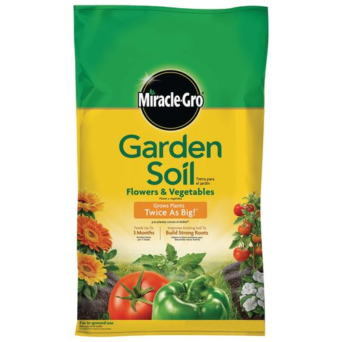 Miracle-Gro Garden Soil for Flowers & Vegetables