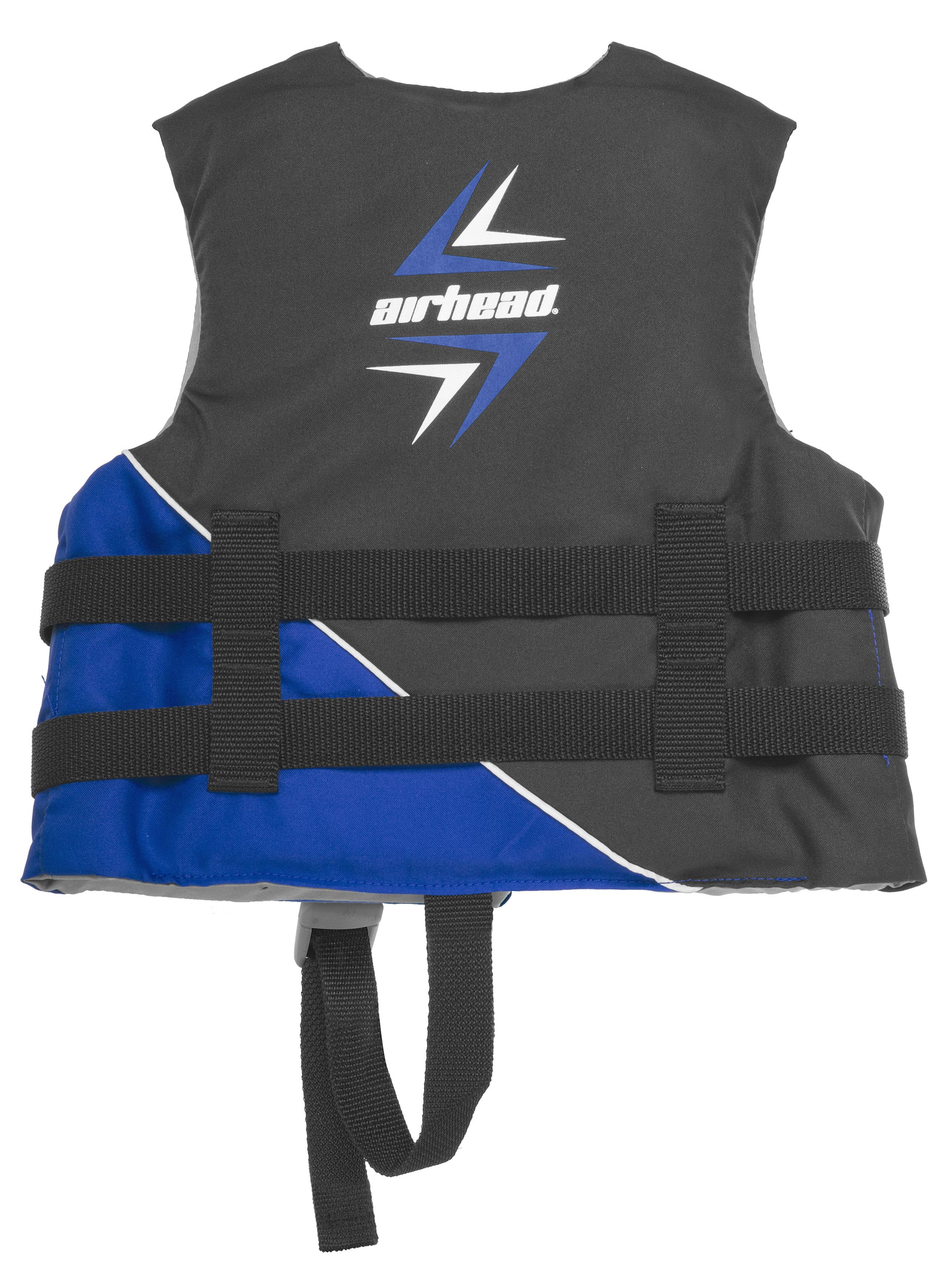 Airhead SLASH Life Vest, Children 30-50 ibs, Blue Black by AIRHEAD SPORTS GROUP
