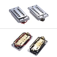2pcs/set Guitar Sealed Humbucker Pickups Pick-ups Dual Coil for LP Electric Guitars with Mounting Screws