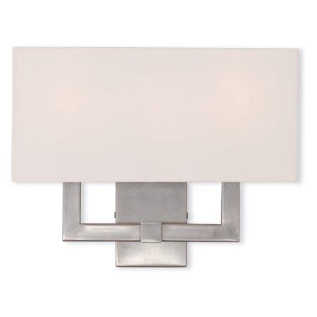 Livex Lighting Hollborn Light Wall Sconce Walmartcom - 3 light bathroom sconce