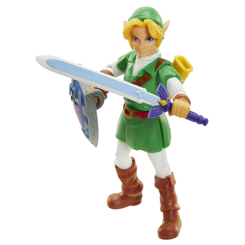 "World of Nintendo 4"" Link Ocarina of Time"