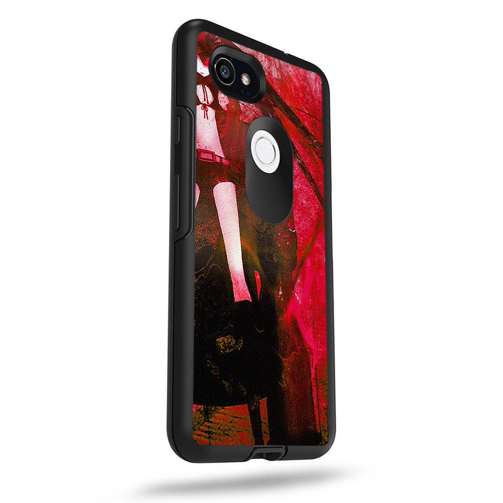 "0e1d0d3d2576 MightySkins Skin For OtterBox Symmetry Google Pixel 2 XL 5.5"" Case - Alien  Invasion"