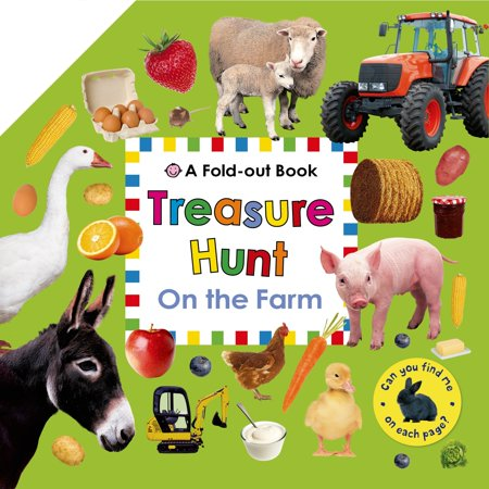 Treasure Hunt: On the Farm : A Fold-Out Book](Clues For A Halloween Treasure Hunt)
