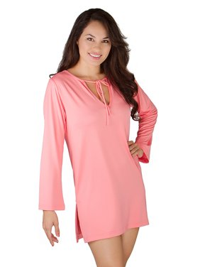 Women's Swimsuit Cover Up / Summer Dresses / Resort Wear UPF 50 Coral X-Large