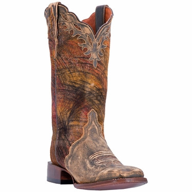 "Dan Post Ladies 12"" Tan Traid Margie Certified Cowgirl Style Boot, DP3949 by DAN POST"