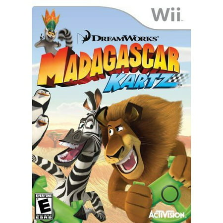 Mad Karts of Madagascar (Wii)