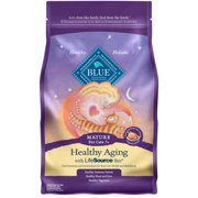 [Multiple Sizes] Blue Buffalo Healthy Aging Natural Mature Chicken & Brown Rice Dry Cat Food