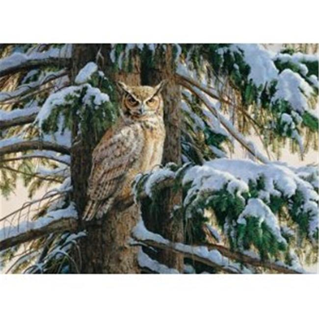 Outset Media Games OM51659 Snowy Perch Puzzle 1000 pcs