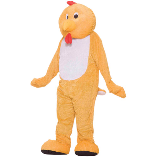 Chicken Mascot Adult Halloween Costume, Size: Men's - One Size