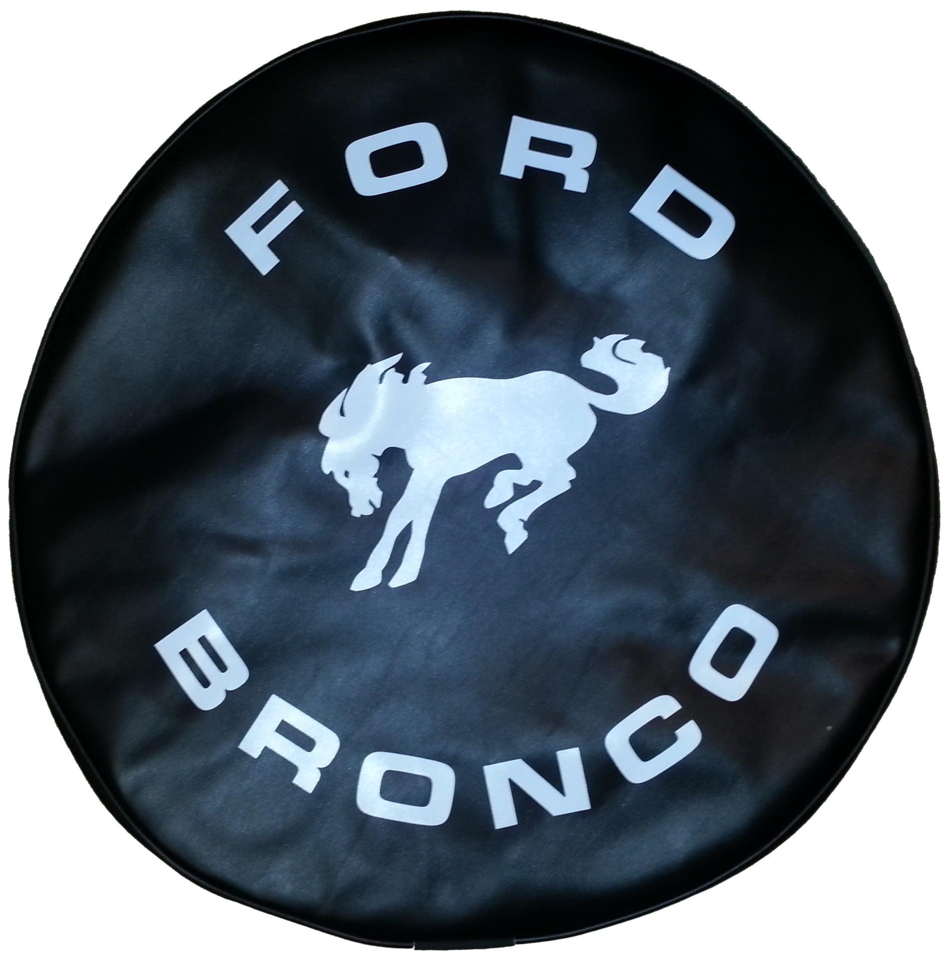 "SpareCover ABC Series - FORD BRONCO 27"" BLACK HD Vinyl Ti..."
