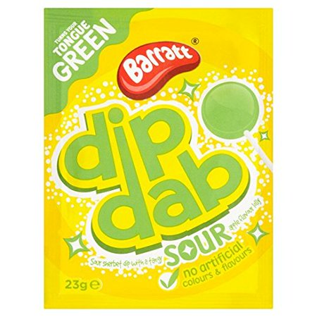 Apple Dip (Barratt Dip Dab Sour Apple Flavour 23G )