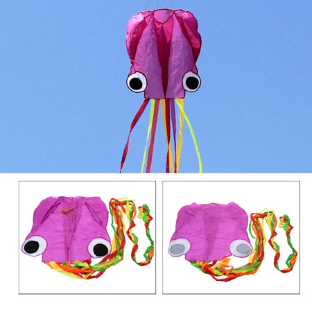 4M Octopus Kite Long Soft Kite with Handle Line Outdoor Sports