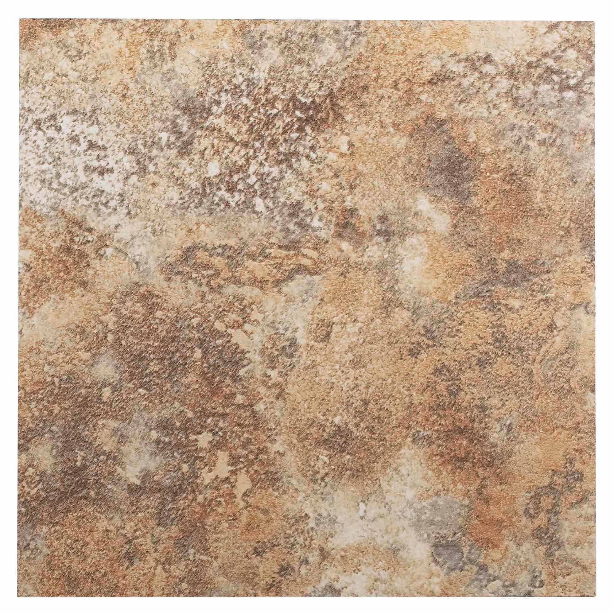 NEXUS Granite 12x12 Self Adhesive Vinyl Floor Tile - 20 Tiles/20 Sq.Ft.