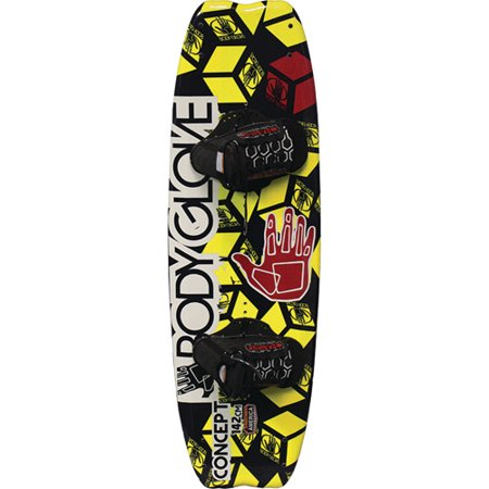 Body Glove Concept Wakeboard with Chaser Bindings