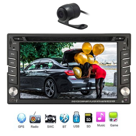 Navigation Seller   Privileged Sale Universal Car Stereo System Video Auto Radio Dvd Player Double Din In Dash Gps Navigation Autoradio Bluetooth Touch Screen   Free Backup Camera