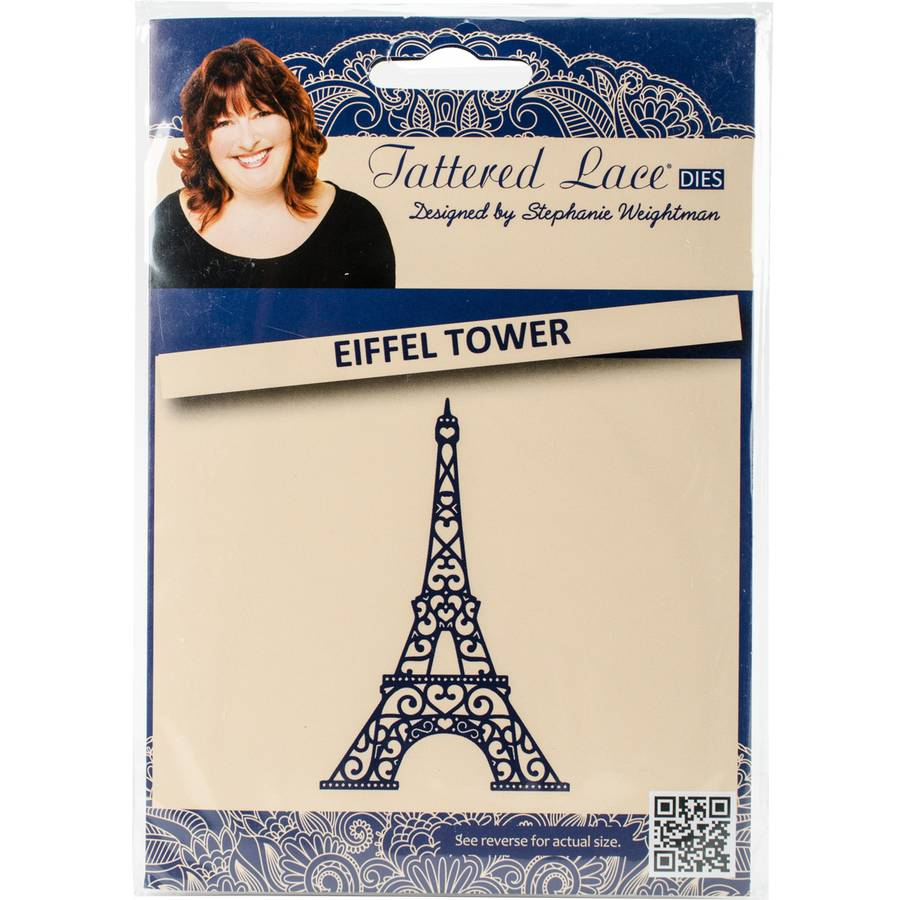 Tattered Lace Metal Die, Eiffel Tower