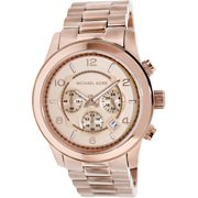 Rose Gold-Plated Stainless Steel Men's Watch, MK8096