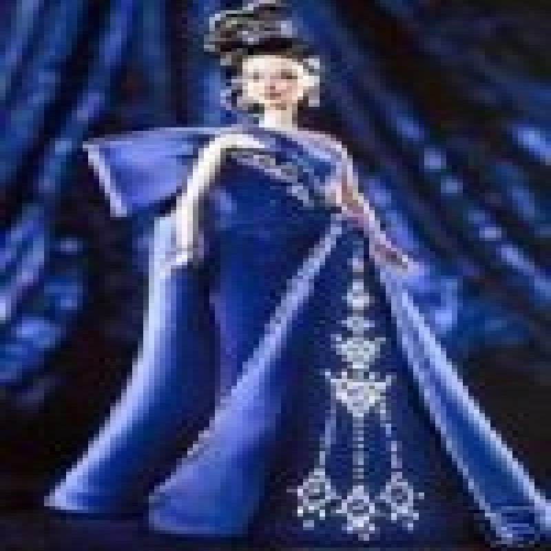 Sapphire Splendor Barbie: The Jewel Essence Collection by...