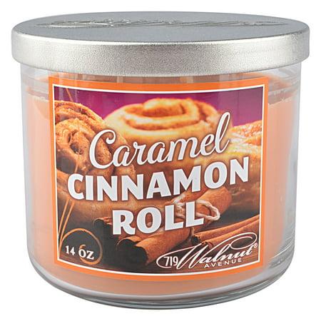 719 Walnut Avenue Caramel Cinnamon Roll 3 Wick Candle 14