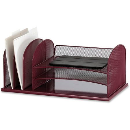 Safco Upright Roll - Onyx™ 3Horizontal/3Upright sections, Wine