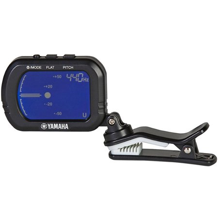 Yamaha GCT1 Chromatic Clip-On Tuner For Guitar, Ukulele, Violin Classical Electric Guitar Tuner