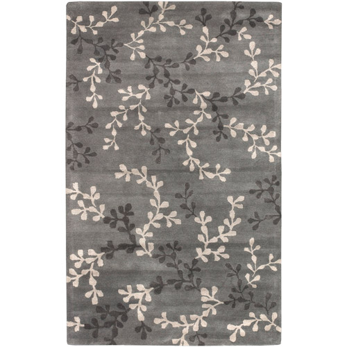 Art of Knot Brevig 2' x 3' Charcoal Rug