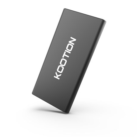 KOOTION 500G Portable External SSD USB 3.0 High Speed Read & Write up to 400MB/s & 300MB/s External Storage Ultra-Slim Solid State Drive for PC, Desktop, Laptop, MacBook