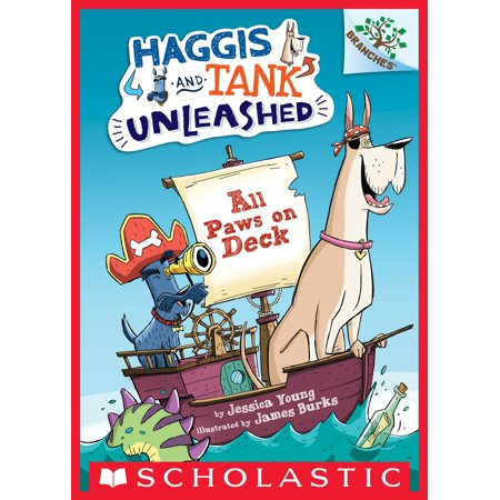 All Paws on Deck: A Branches Book (Haggis and Tank Unleashed #1) -